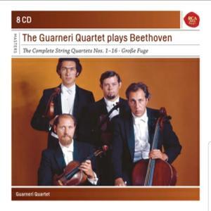 ベートーヴェン:弦楽四重奏曲『ハープ』グアルネリ四重奏団