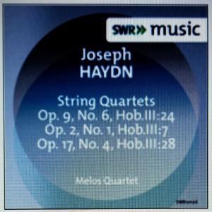 ハイドン:弦楽四重奏曲第19番他/メロス四重奏団