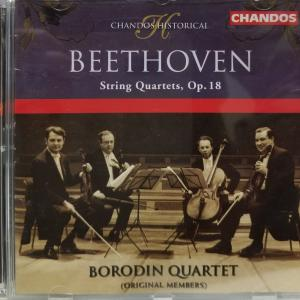ベートーヴェン弦楽四重奏曲第4番:ボロディン四重奏団