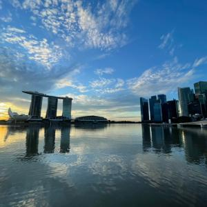 遅れましてシンガポールから…「HAPPY NEW YEAR!!!!! ⭐︎」