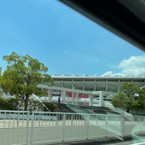 オリンピック会場の様子とスイミング