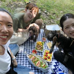 最後の思い出作りのピクニック♡