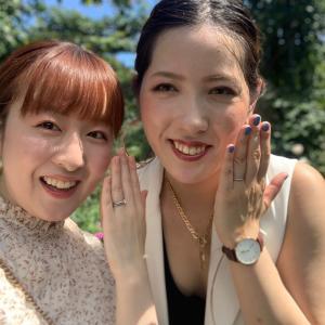 結婚2周年♡指輪交換してきました