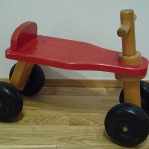 KOIDE(コイデ) 日本製 木製乗用玩具 マイカー