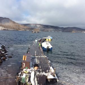 ワカサギ釣り、初体験
