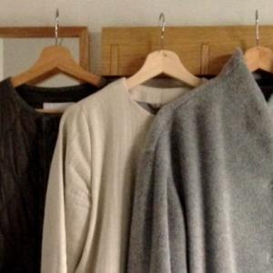 [ファッション] この冬着るコート3着と合わせる巻物たち