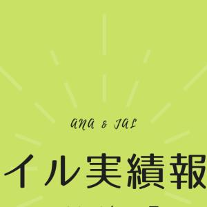【マイル実績報告】2019年11月