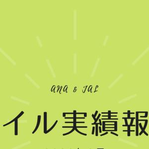 【マイル実績報告】2020年8月