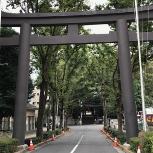 金王八幡宮と渋谷城址