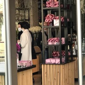 2月末のニコライバーグマン花店