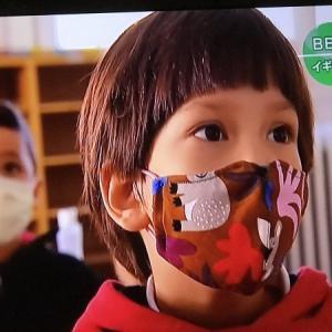 マスクのデザインが花盛り