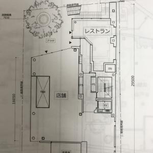 隣の広い駐車場にビルの建築計画