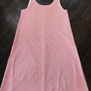 和手ぬぐいで作るシュミーズドレス