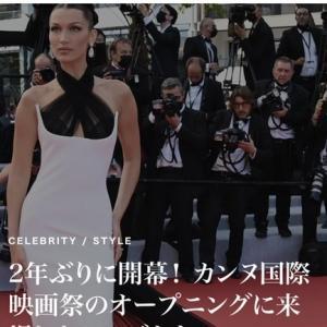 2年ぶりのカンヌ映画祭レッドカーペット