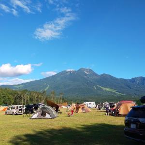 【キャンプ】台風接近!避難の為に長野へキャンプに行ってきた話【ツーリングキャンプ】【プロジェクター】【やすらぎの森オートキャンプ場】