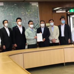 あま市に提出「新型コロナウイルス感染症対策に関する要望書」