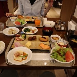 ルシアン旧軽井沢の朝食