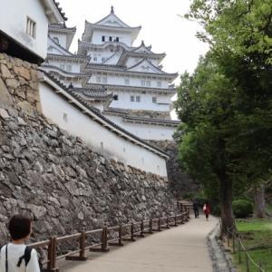 れおりんとJOYJOYと共に姫路城天守見学へ