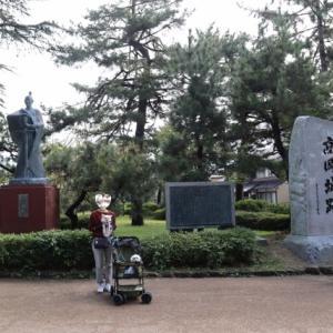 日本100名城 富山の高岡城へ