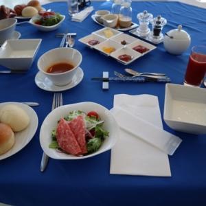 WAN'S RESORT城ケ崎での朝食