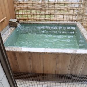 滋賀県大津 松の浦別邸の部屋露天
