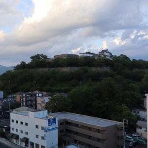 岡山県津山 シロヤマテラスの城見SPAへ