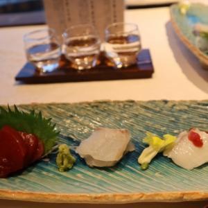 岡山県津山 シロヤマテラス別邸の楽しみの夕食