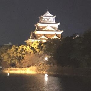 ブレークタイム 夜城 広島城