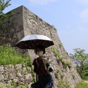 続日本100名城 米子城天守へ