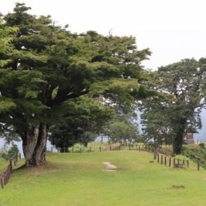 日本100名城 島根 月山富田城の見事な天守部