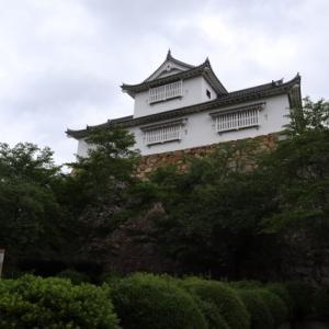 日本100名城の津山城へ