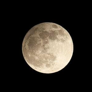 今日は満月、フロストムーン!!