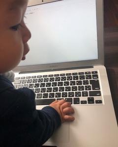 パパのパソコンをジャックだ!: