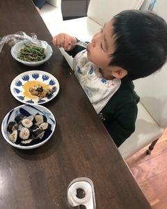 パパと昼ごはん:
