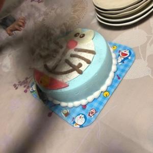 ドラえもんのケーキ: