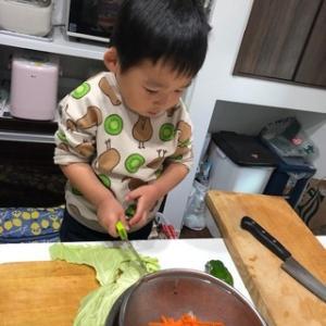 ボクも料理に挑戦だ!: