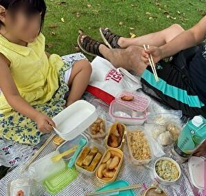 秋 ピクニック お弁当
