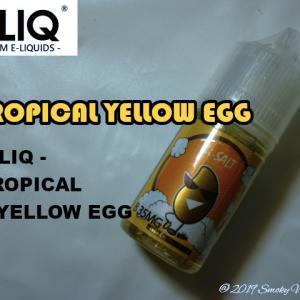HiLIQ - TROPICAL YELLOW EGG リキッドレビュー