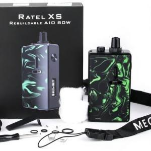 【VAPE】【最新情報】Mechlyfe Ratel XS AIO 80W TC Pod Mod Kit