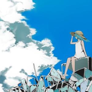 「入道雲と瓦礫」