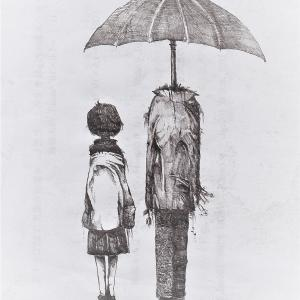「 傘頭 」