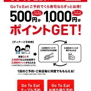【Gotoeat】初Gotoくら寿司の結果♪