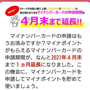 【朗報】マイナンバーカード申請期限、延長決定★