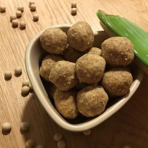 【砂糖なしレシピ】材料3つ。和の味を楽しめる♪イチジクときな粉のブリスボール