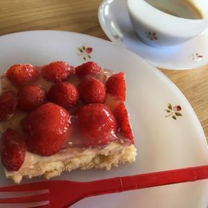 【砂糖なしレシピ】摘みたてフレッシュいちごでいちごケーキ