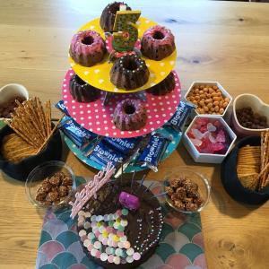 【5歳お誕生日】人魚姫テーマでお誕生日会