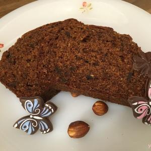 【砂糖なしレシピ】卵黄消費に♪ふわふわチョコレートパウンドケーキ