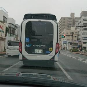 燃料電池で動くバス