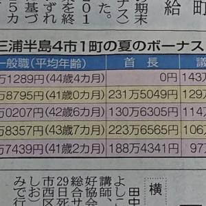 横須賀市長のボーナス辞退