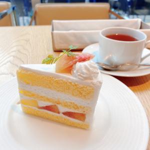 桃のショートケーキ♡ヴィーナスマネースクール生とお茶する休日
